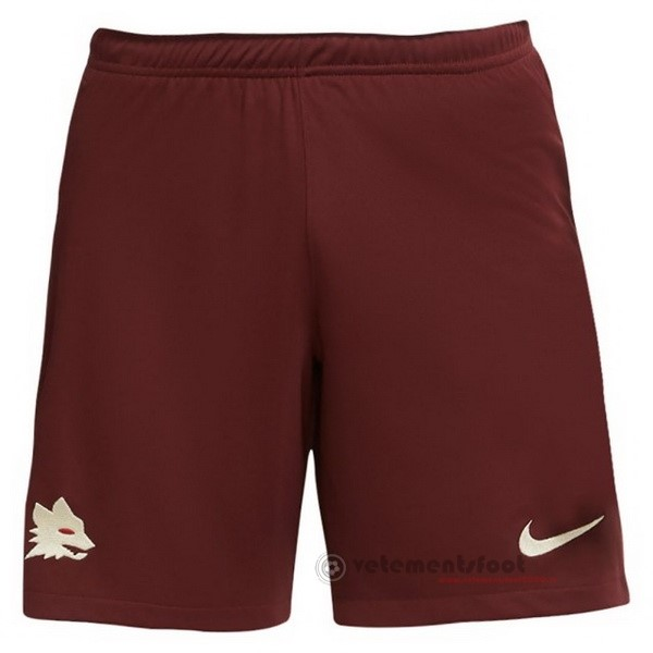 Exterieur Pantalon As Roma 2020 2021 Rouge Vente Maillot Foot