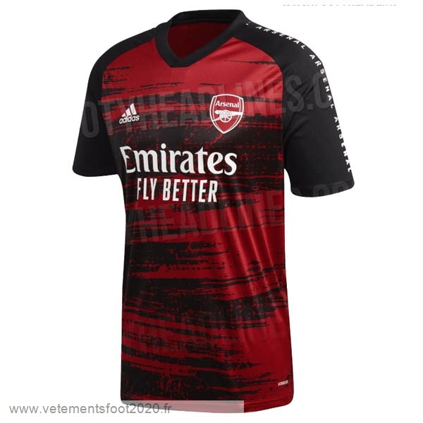 Pre Match Maillot Arsenal 2020 2021 Rouge Vente Maillot Foot