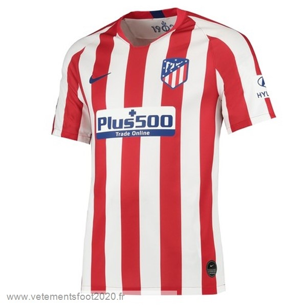 Domicile Maillot Atlético Madrid 2019 2020 Rouge Vente Maillot Foot