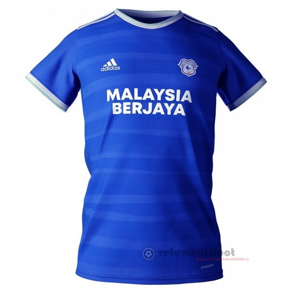 Domicile Maillot Cardiff City 2020 2021 Bleu Vente Maillot Foot