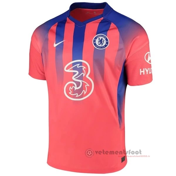 Third Maillot Chelsea 2020 2021 Orange Vente Maillot Foot