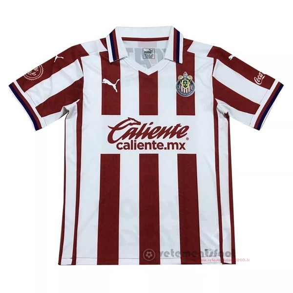 Domicile Maillot Chivas USA 2020 2021 Rouge Vente Maillot Foot