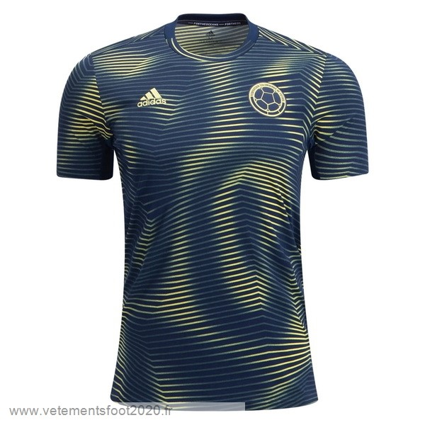 Entrainement Colombia 2019 Vert Vente Maillot Foot