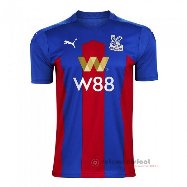 Domicile Maillot Crystal Palace 2020 2021 Bleu Vente Maillot Foot