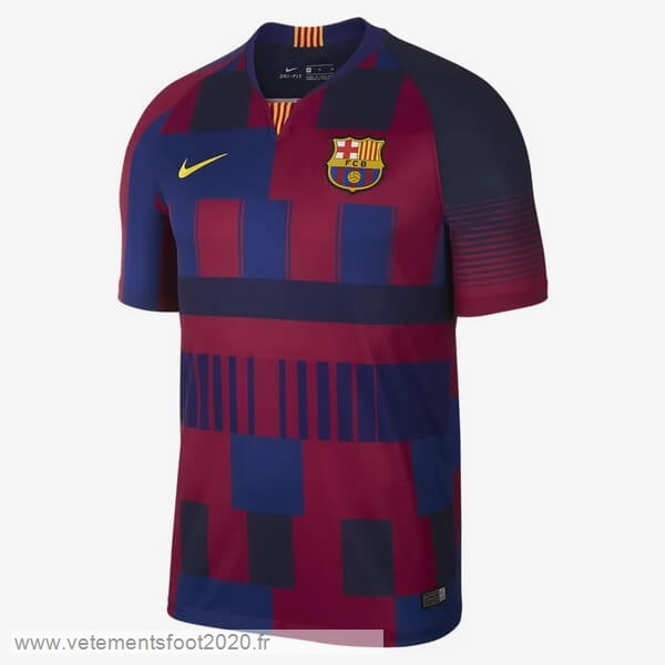 Maillot Barcelona 20th Bleu Rouge Vente Maillot Foot