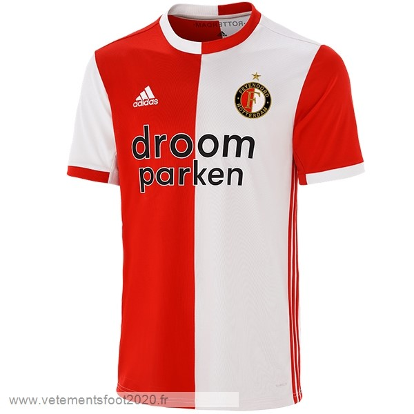 Domicile Maillot Feyenoord Rotterdam 2019 2020 Rouge Vente Maillot Foot
