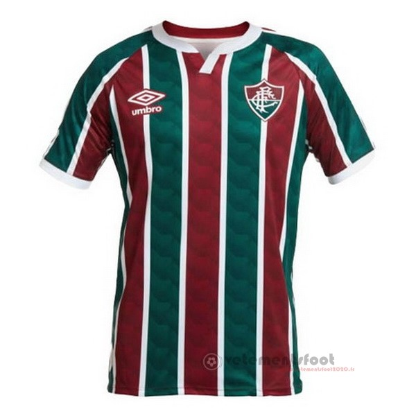 Domicile Maillot Fluminense 2020 2021 Rouge Vert Vente Maillot Foot