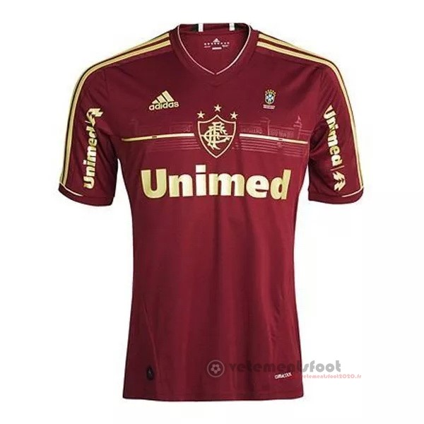 Third Maillot Fluminense Rétro 2012 Rouge Vente Maillot Foot
