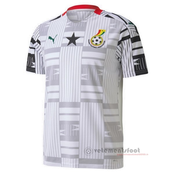 Domicile Maillot Ghana 2020 Blanc Vente Maillot Foot