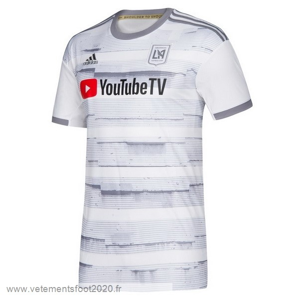 Exterieur Maillot LAFC 2019 2020 Blanc Vente Maillot Foot