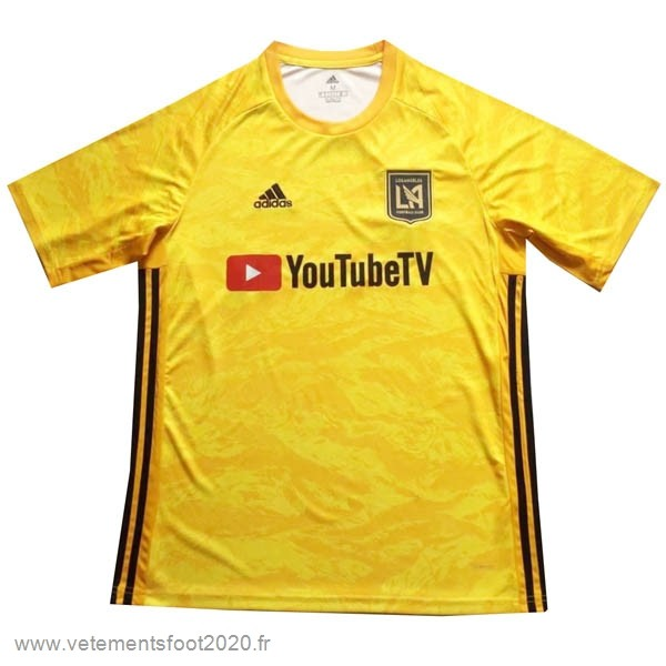Gardien Maillot LAFC 2019 2020 Jaune Vente Maillot Foot