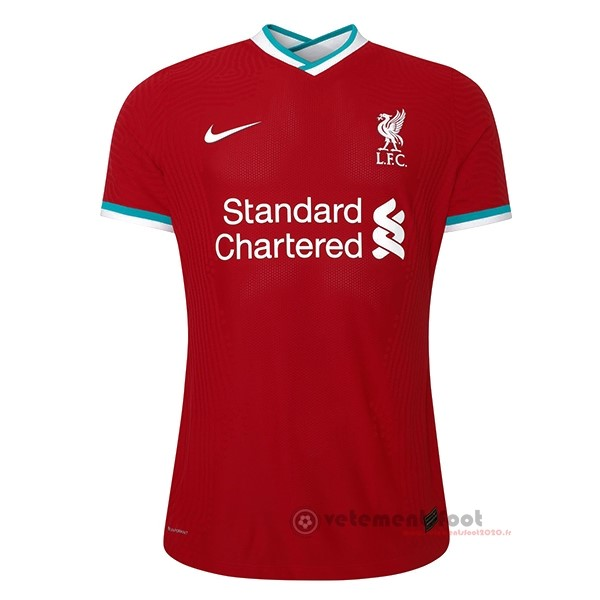 Domicile Maillot Femme Liverpool 2020 2021 Rouge Vente Maillot Foot