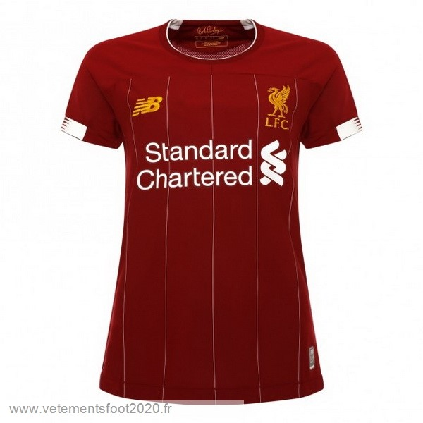 Domicile Maillot Femme Liverpool 2019 2020 Rouge Vente Maillot Foot