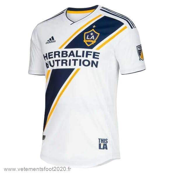 Domicile Maillot Los Angeles Galaxy 2019 2020 Blanc Vente Maillot Foot