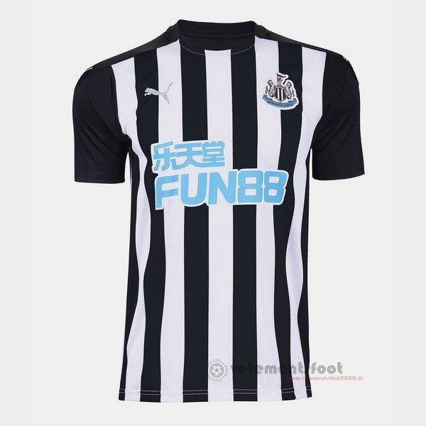 Domicile Maillot Newcastle United 2020 2021 Noir Vente Maillot Foot