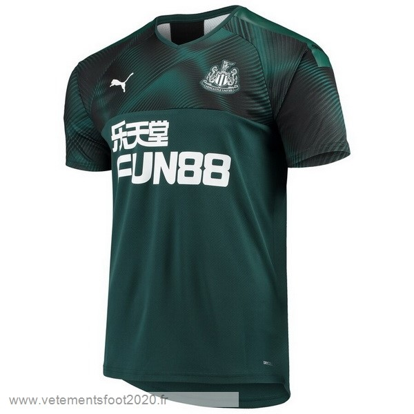Exterieur Maillot Newcastle United 2019 2020 Vert Vente Maillot Foot