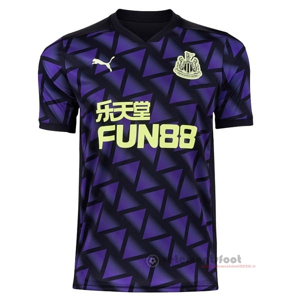 Third Maillot Newcastle United 2020 2021 Purpura Vente Maillot Foot
