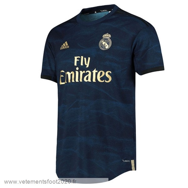 Exterieur Maillot Real Madrid 2019 2020 Bleu Vente Maillot Foot