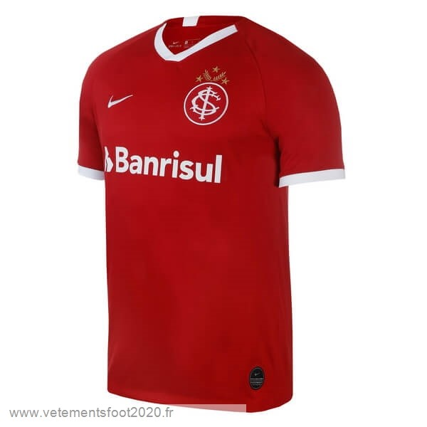 Domicile Maillot Internacional 2019 2020 Rouge Vente Maillot Foot
