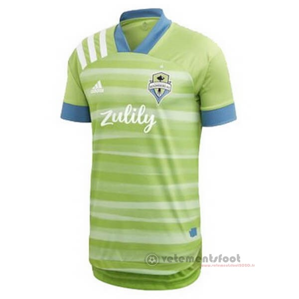 Domicile Maillot Seattle Sounders 2020 2021 Vert Vente Maillot Foot