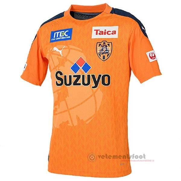 Domicile Maillot Shimizu S Pulse 2020 2021 Orange Vente Maillot Foot