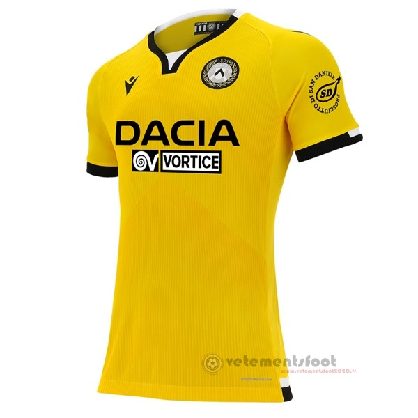 Third Maillot Udinese 2020 2021 Jaune Vente Maillot Foot