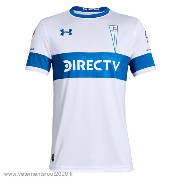 Domicile Maillot CD Universidad Católica 2019 2020 Blanc Vente Maillot Foot