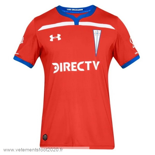 Exterieur Maillot CD Universidad Católica 2019 2020 Rouge Vente Maillot Foot