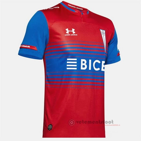 Exterieur Maillot CD Universidad Católica 2020 2021 Rouge Vente Maillot Foot